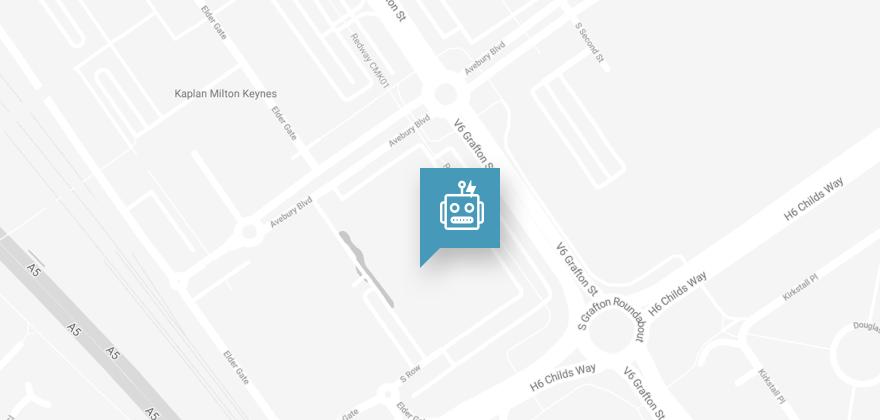 map milton keynes